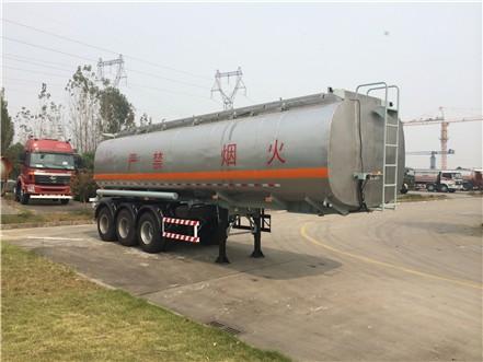 三力牌32吨(CGJ9403GJY)加油半挂车专业测评图片