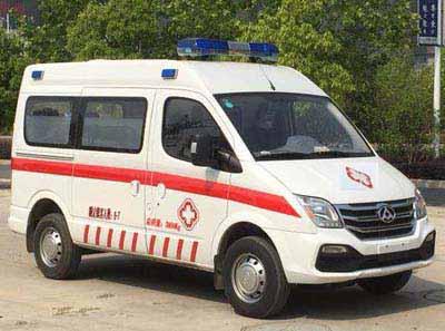新全顺福星6-M型救护车的配置阻碍救护车图片