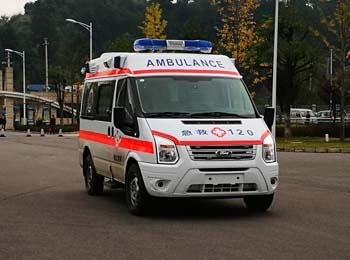 新全顺福星6-M型救护车的配置程力救护车专业厂怎么样图片