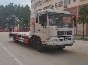 东风天锦6.8米平板运输车一般多少钱图片