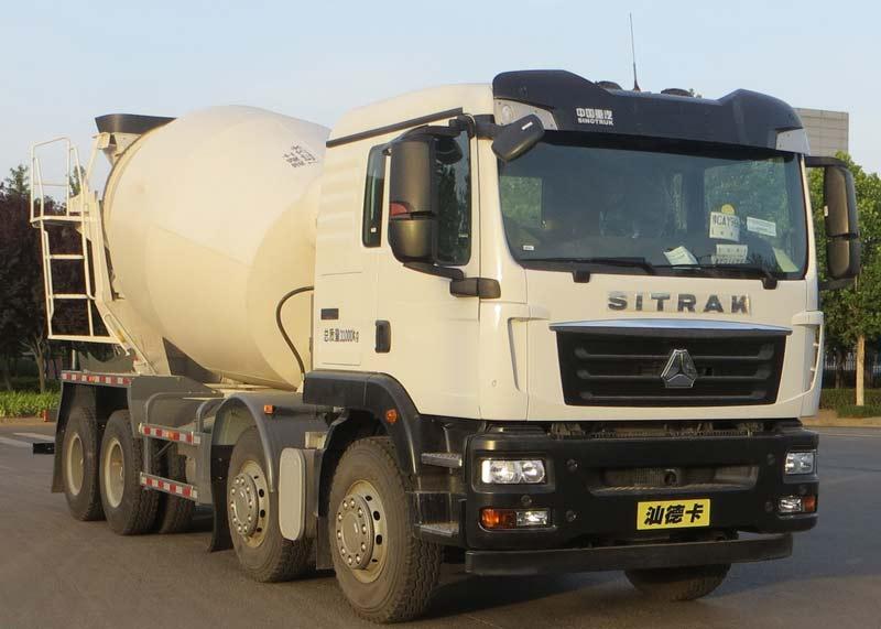 混凝土搅拌运输车的用途混凝土搅拌车配件代理图片