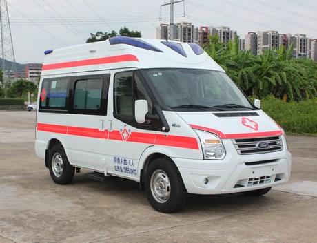福特救护车 江铃福特救护车多少钱一台?图片