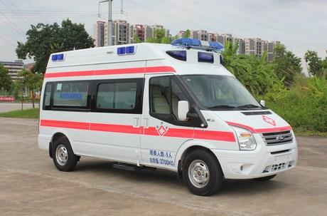 怎样办理救护车免费牌照?永州市祁阳县救护车运送服务图片