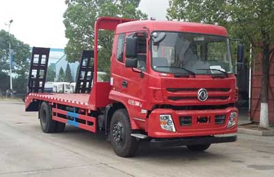 程力威牌平板运输车专用性能 :低平板运输车报价图片