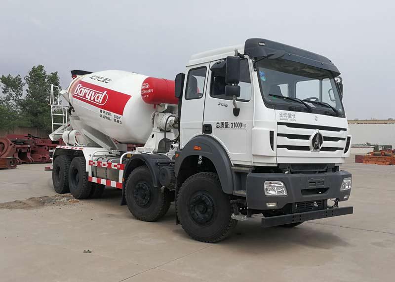 混凝土搅拌运输车液压油泵的检修及保养:工程混凝土搅拌车图片