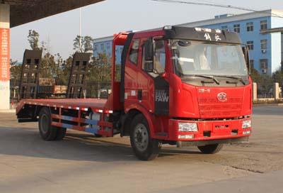 刹车系统的定期保养5吨平板运输车图片