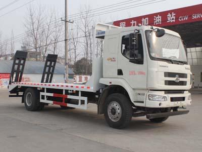 刹车系统的定期保养超低平板运输车图片