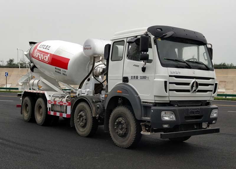 混凝土混凝土搅拌运输车和罐车的区别是什么?转让二手18方混凝土搅拌车图片