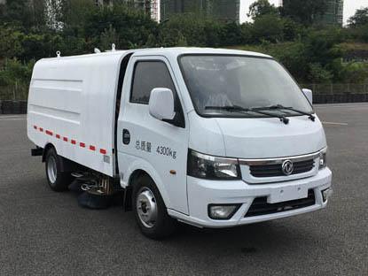 城市清洁全靠她东风牌(EQ5040TSLBEVS)纯电动扫路车扫路车扫刷的种类图片