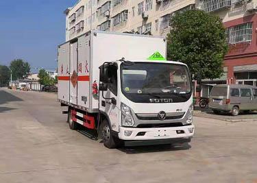 爆破器材运输车能运输哪些物品?爆破器材运输车道客巴巴图片