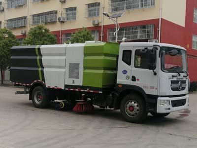 洗扫车厂家介绍性能、特点、操作规程洗扫车扫不净图片