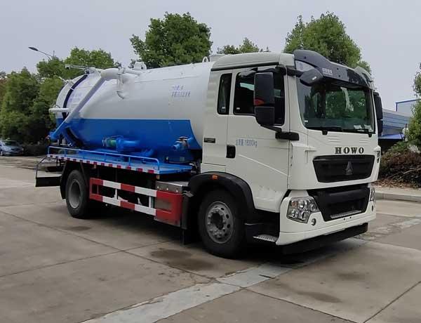清洗吸污车的罐体材质工艺及用途高压清洗吸污车管道疏通车图片