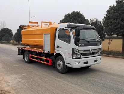 江苏扬州市10吨吸污车厂家价格多少钱吸污车配件价格图片