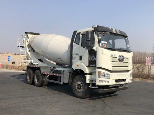水泥混凝土搅拌运输车的结构及工作原理一车混凝土搅拌车最重有多重图片