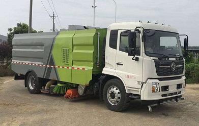 吸尘车简单高效实用5吨吸尘车图片