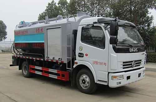 清洗吸污车的罐体材质工艺及用途10吨清洗吸污车报价图片