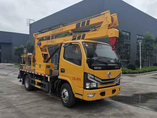 高空作业车厂家为您介绍华通牌 高空作业车(HCQ5040JGKEQ6)的性能陕西省二手高空作业车图片